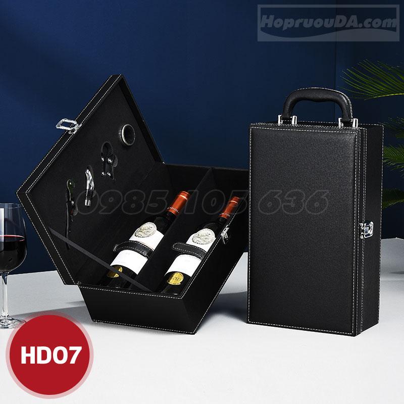 Mua hộp đựng rượu vang 2 chai ở Hà Nội
