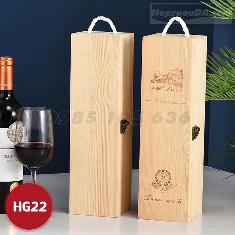 Cung cấp hộp đựng rượu bằng gỗ giá rẻ