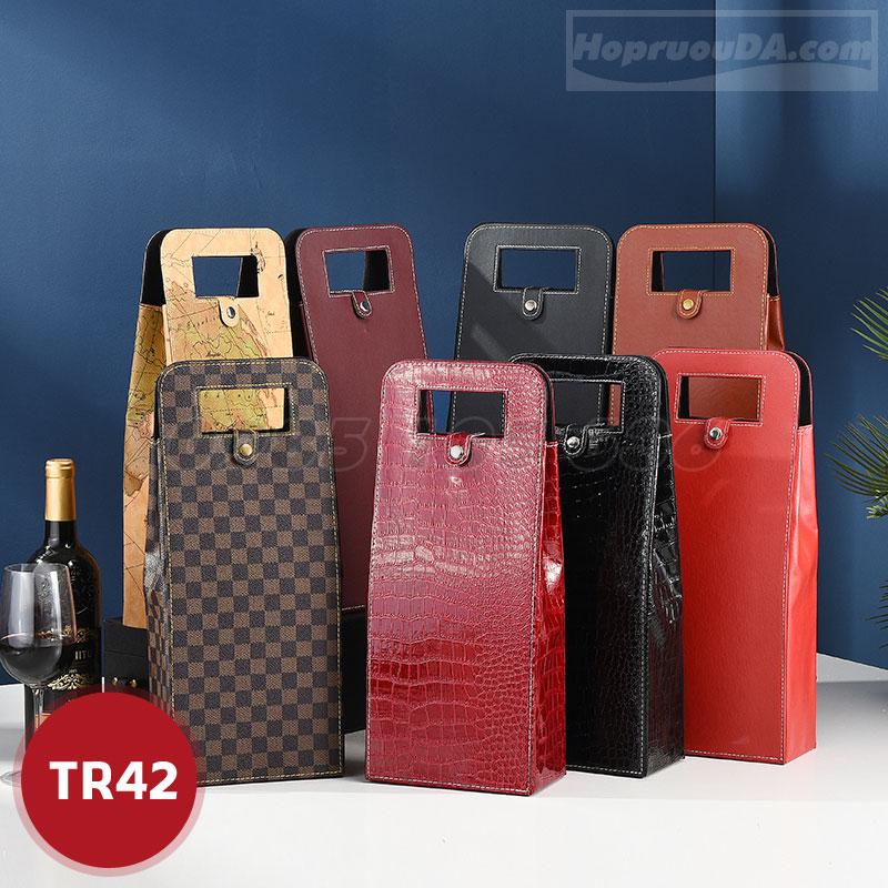 Túi da đựng rượu