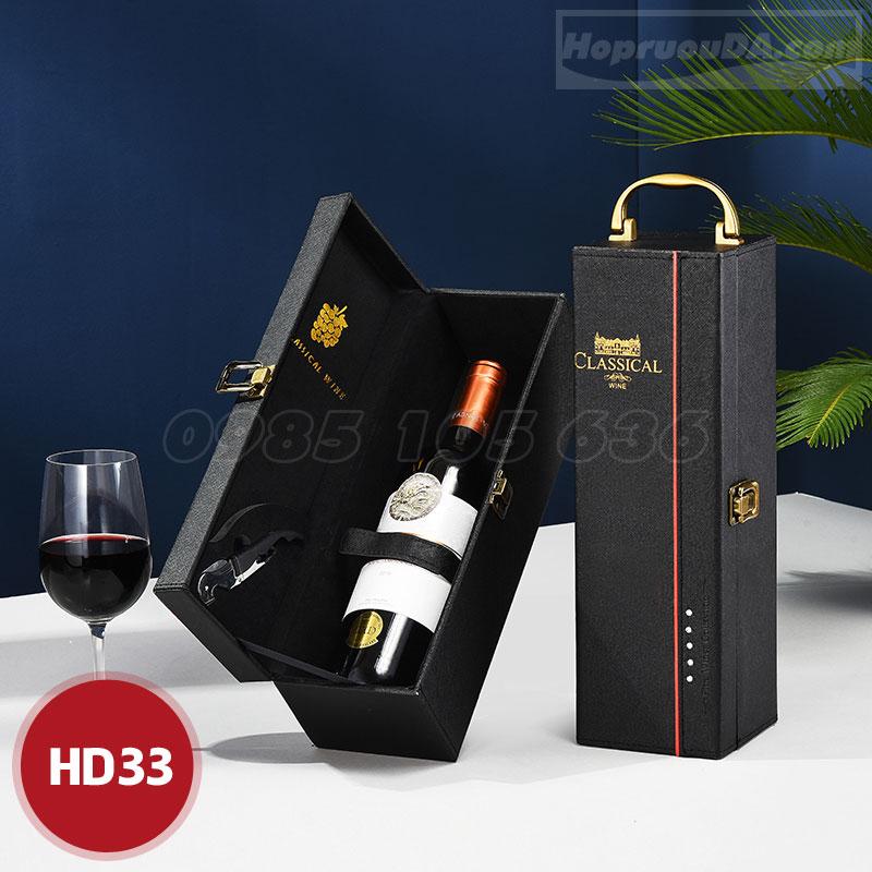 Mua hộp da đựng rượu vang ở đâu?