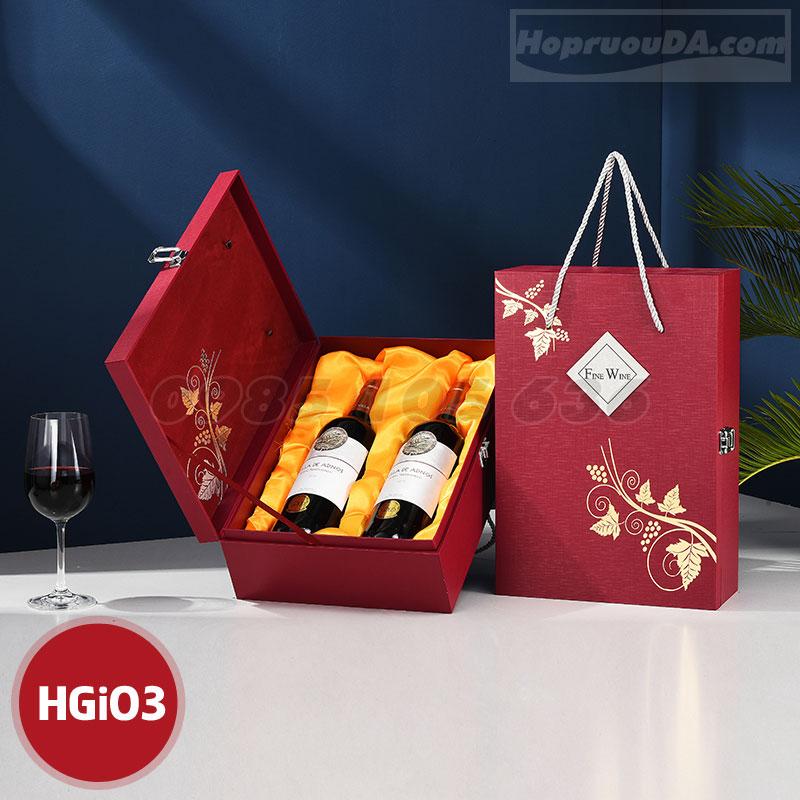 Ở đâu bán hộp đựng rượu bằng giấy giá rẻ tại Hà Nội
