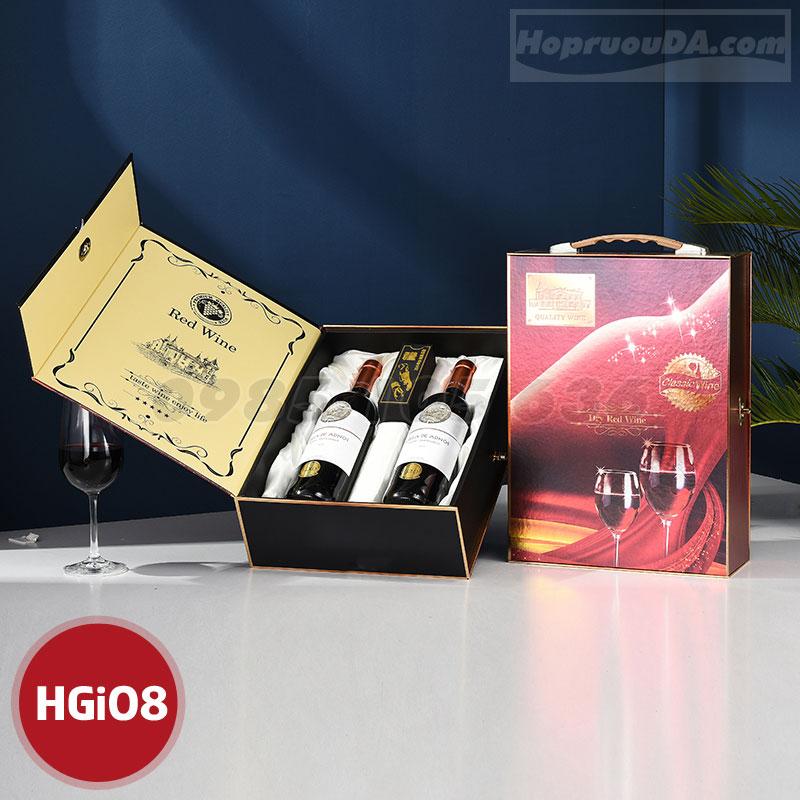 Ở đâu bán hộp đựng rượu bằng giấy?