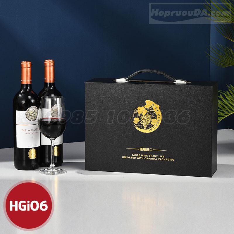 Hộp rượu giấy cao cấp TP HCM
