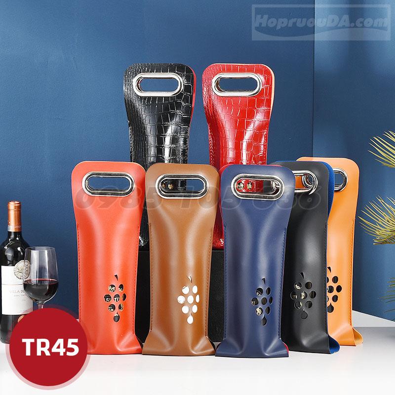 Túi da mềm đựng rượu vang giá rẻ