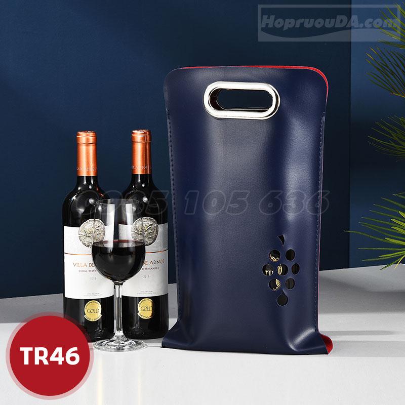 Túi xách rượu bằng da cao cấp