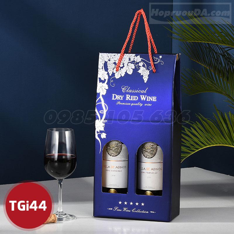 Túi đựng rượu vang bằng giấy giá rẻ